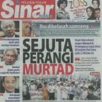 Himpunan Sejuta Umat and apostasy in Malaysia